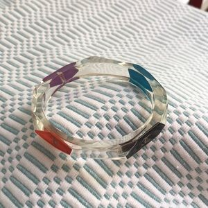 CHANEL Jewelry - CHANEL multicolor lucite bracelet